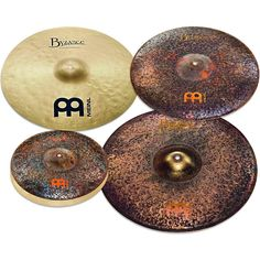 """Meinl Mike Johnston Byzance Cymbal Set with Free 18"""" Byzance Extra Dry"""