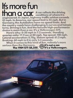 Bid for the chance to own a Highly Original 1984 VW Rabbit GTI at auction with Bring a Trailer, the home of the best vintage and classic cars online. Vw Mk1 Rabbit, Mercedes Benz, Vw Fox, Auto Union, Surf, Porsche, Classic Cars Online, Car Manufacturers, New Tricks
