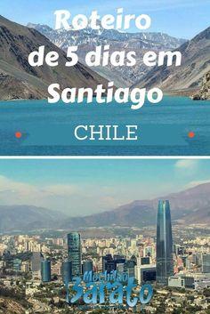 Roteiro de 5 dias em Santiago - Chile. Nesse post detalhamos um Roteiro de 5 dias em Santiago, no Chile. Saiba o que fazer em Santiago, veja as dicas de como planejar uma viagem para a capital chilena de forma forma independente e de como economizar por lá.