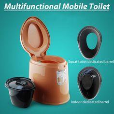 Thetford Porta Potti Qube 345 Camping WC Toilette Boot Wohnmobil Mobile Portable