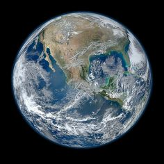 New NASA photo of the Earth