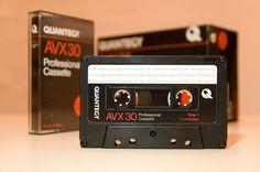 1 Stück • Quantegy AVX 30 • IEC I Cassette