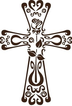 Tribal cross tattoo design if you still want a cross, im not sure though Martin Martin Lenore Tribal Cross Tattoos, Cross Tattoos For Women, Cross Tattoo Designs, Cross Designs, God Tattoos, Tattoo You, Tatoos, Tattoo Quotes, Rosary Bead Tattoo