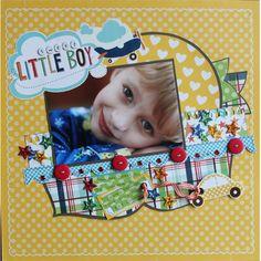 sweet little boy - Scrapbook.com