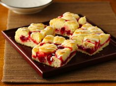 Gluten Free Fruit Swirl Coffee Cake
