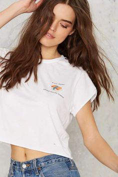The Laundry Room Lil' Sushi Crop Tee - What's New : Clothes