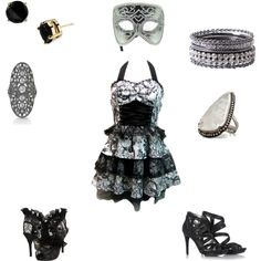 Masquarade, created by dancemaritza on Polyvore