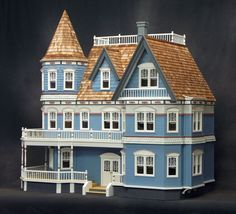 The Queen Anne II dollhouse.  My dream house.  I have this, now I just need the nerve to try to assemble it!  (And no, I didn't pay full price.  o_O )