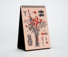 Table calendar by Dry Design Creative Studio www.dry-design.it/ Table Calendar, Fine Paper, Creative Studio, Playing Cards, Cards, Game Cards