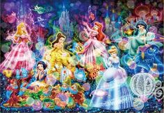 CLICK TO ENLARGE - Disney Princesses