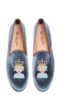 In honor of the #RoyalVisitUSA: M'O Exclusive #Hermajesty Loafer by Del Toro for Preorder on Moda Operandi