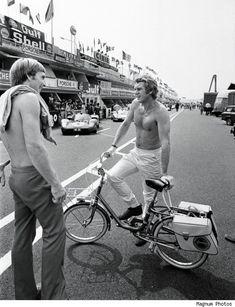 Rides a Bike: Steve McQueen