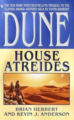 House Atreides (Dune: House Trilogy Book by Brian Herbert, Kevin Anderson 0553110616 9780553110616 Sci Fi Novels, Sci Fi Books, Fiction Novels, Audio Books, Science Fiction, House Atreides, Dune Book, Dune Series, Book Covers