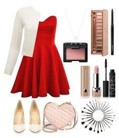 """The 12 Days of Valentine's: Day 12"" by silverowlett ❤ liked on Polyvore featuring Pure Collection, Christian Louboutin, Rebecca Minkoff, Tiffany & Co., NARS Cosmetics, MAC Cosmetics, Urban Decay, Marc Jacobs, women's clothing and women"