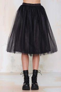 Nasty Gal So Meshed Up Midi Skirt - Skirts | Bottoms | Skirts