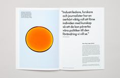Brand identity and print for Skogsindustrierna, The Swedish For­est Indus­tries Fed­er­a­tion, by BVD