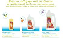 Naturalia et ses produits ménagers