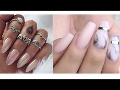 Nails Tutorial Compilation #10 - YouTube