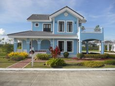 RFO unit in talamban for downpayment only - House & Lot Cebu City Philippines - 35866 Entry Way Design, Entrance Design, House Paint Exterior, Exterior Design, Two Story House Design, Rustic Stairs, 2 Storey House, Cebu City, Lots For Sale