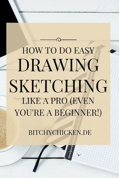 How To Easy Pencil Drawing, Sketching Like A Pro! (Even If You're A Beginner!)