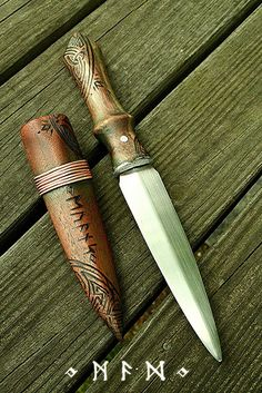 Deep woods dagger 1 by Cedarlore Forge - (formerly Mad Dwarf Workshop), via Flickr