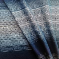 Didymos Indio Blues Hemp Woven Wrap at Purple Elm Baby
