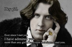 "hahahaha Oscar Wilde's ""The Importance of Being Earnest"" is the best!!!"