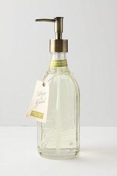 Pure & Good Hand Soap (glass dispenser)