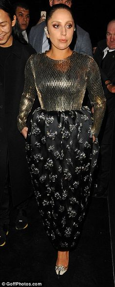 Mixing it up! Lady Gaga decided to switch up her style with two very different looks as sh...