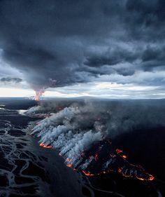 Holuhraun Volcano Eruption, Iceland