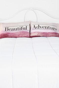 Beautiful Adventure Pillowcase - Set Of 2