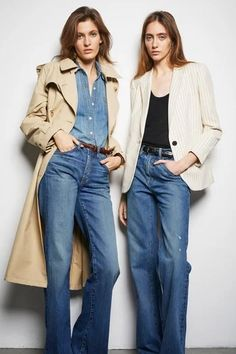 Nili Lotan Pre-Fall 2020 Collection - Vogue Source by lucsikangelika fashion 2020 Jean Outfits, Fall Outfits, Casual Outfits, Ladies Coat Design, Mode Jeans, Vetement Fashion, Fall Jeans, Winter Mode, Inspiration Mode