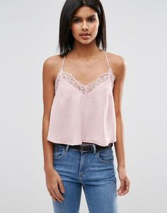 A little lace makes this 90's favorite so current.