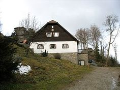 Nebelstein Style At Home, Cabin, House Styles, Home Decor, Mists, Woods, Stones, Cabins, Cottage