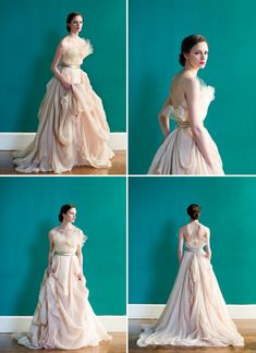 don't care about the wedding dress classification - i want to wear this!  2013 wedding dresses Carol Hannah of Project Runway romantic bridal gowns 8