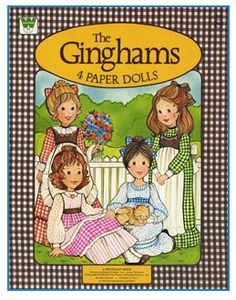 The Gingham Girls (Free Printable Vintage Paper Dolls). Had these growing up. It takes a few links to get to the dolls but it is worth it! Paper Dolls Book, Vintage Paper Dolls, Vintage Toys, Vintage Stuff, My Childhood Memories, Childhood Toys, School Memories, Sweet Memories, Paper Dolls Printable