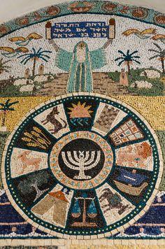 Jerusalem #Israel #mosaics