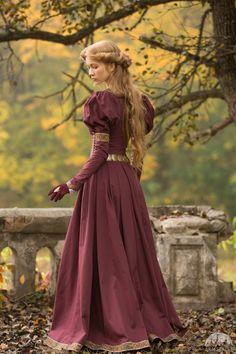 Robe style médiéval « Princesse Perdue »