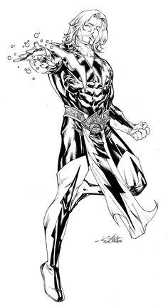 Adam Warlock by SpiderGuile on DeviantArt