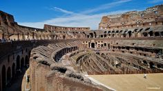 The Colosseum: The arena