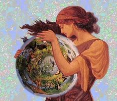 Gaia. Godess of Earth.
