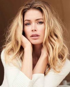 Cashmere cardigan with ribbed shawl collar by High Fashion Photography, Lifestyle Photography, Editorial Photography, Doutzen Kroes, Victorias Secret Models, Victoria Secret, Portraits, Beautiful Celebrities, Woman Crush