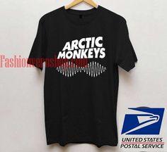 Arctic Monkeys Logo Black T shirt