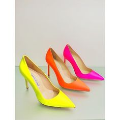 Effortless Everyday Style: Currently Coveting.... Neon Manolos