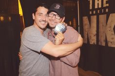 Donnie Wahlberg and Jon Knight