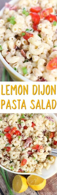 everyone loved it! will make again!!! Lemon Dijon Bacon Pasta Salad Recipe - How to Make the Best Macaroni Salad Ever