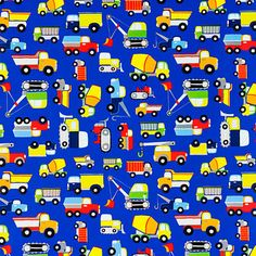 Work Vehicles Gift Wrap