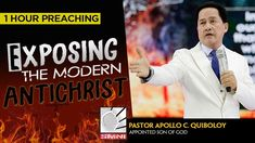 'Exposing The Modern Anti-Christ' by Pastor Apollo C. Spiritual Enlightenment, Spirituality, Anti Christ, Son Of God, Apollo, Need To Know, Worship, Messages, Words