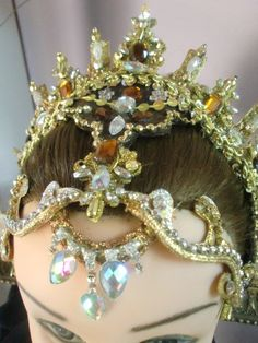 """Princess Aurora"" jewelled ballet headdress"