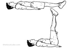 Lying Leg Raise / Lift